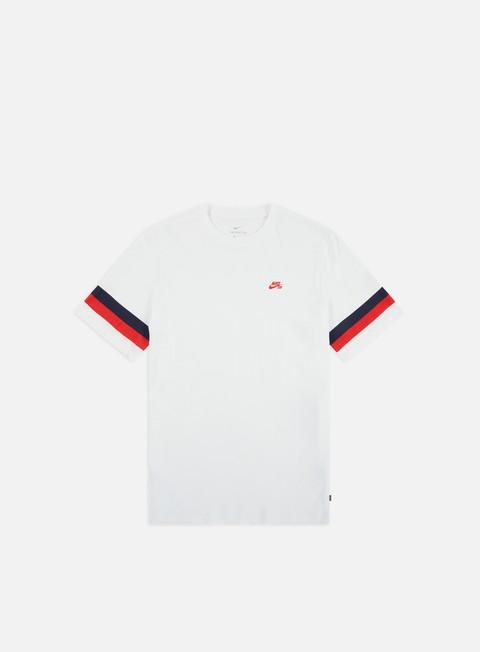 Short Sleeve T-shirts Nike SB Sleeve Stripe T-shirt