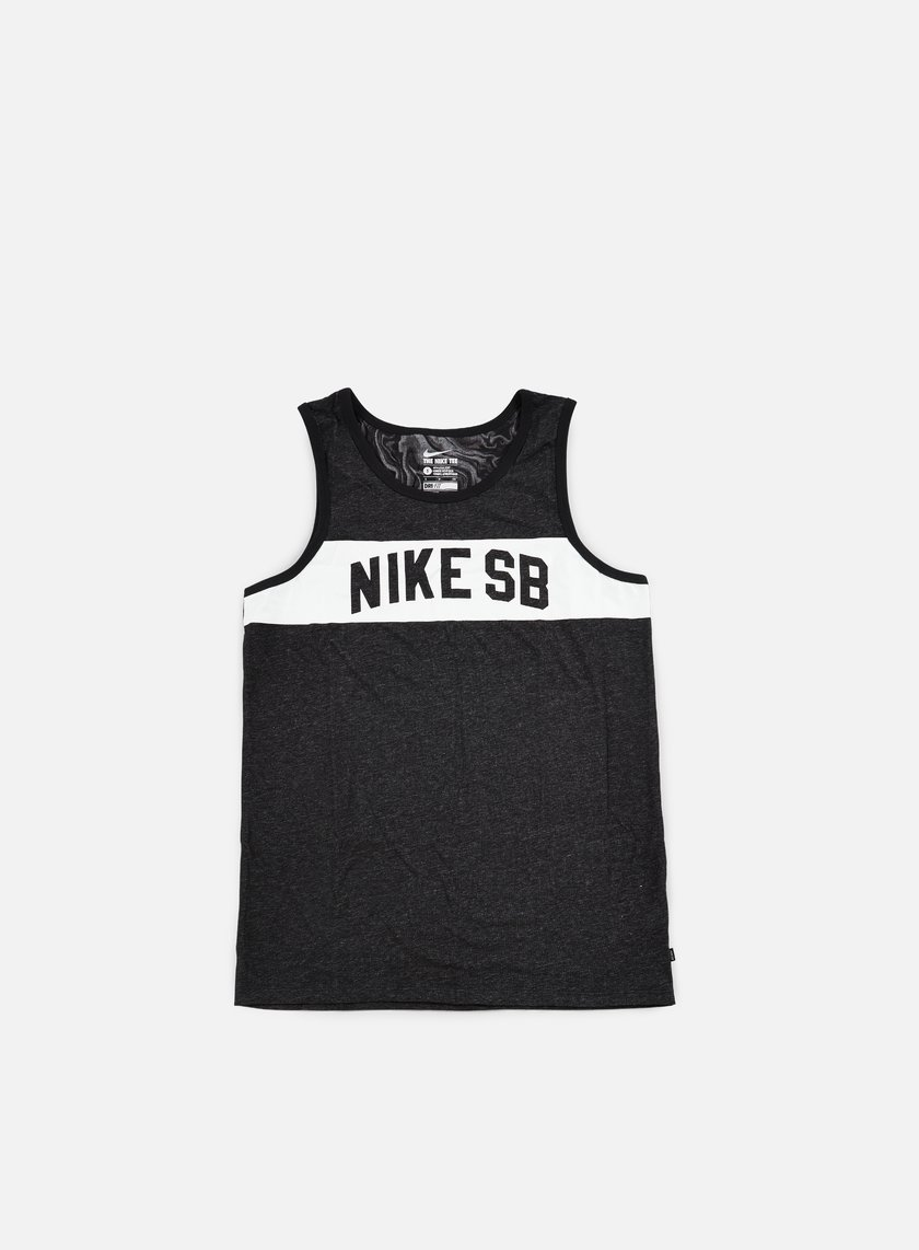 Nike SB - Tiger Tank, Black/White
