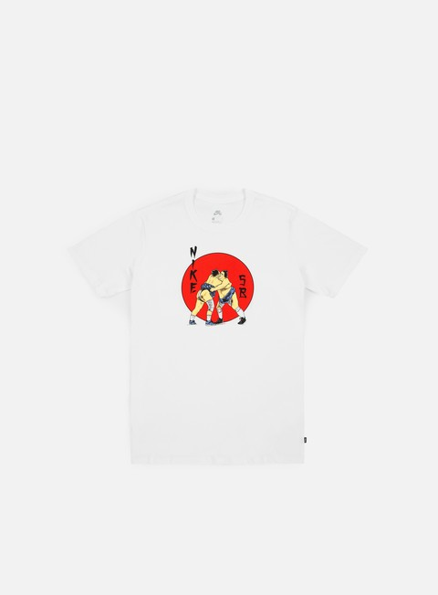 Outlet e Saldi T-shirt a Manica Corta Nike SB Wrestler T-shirt