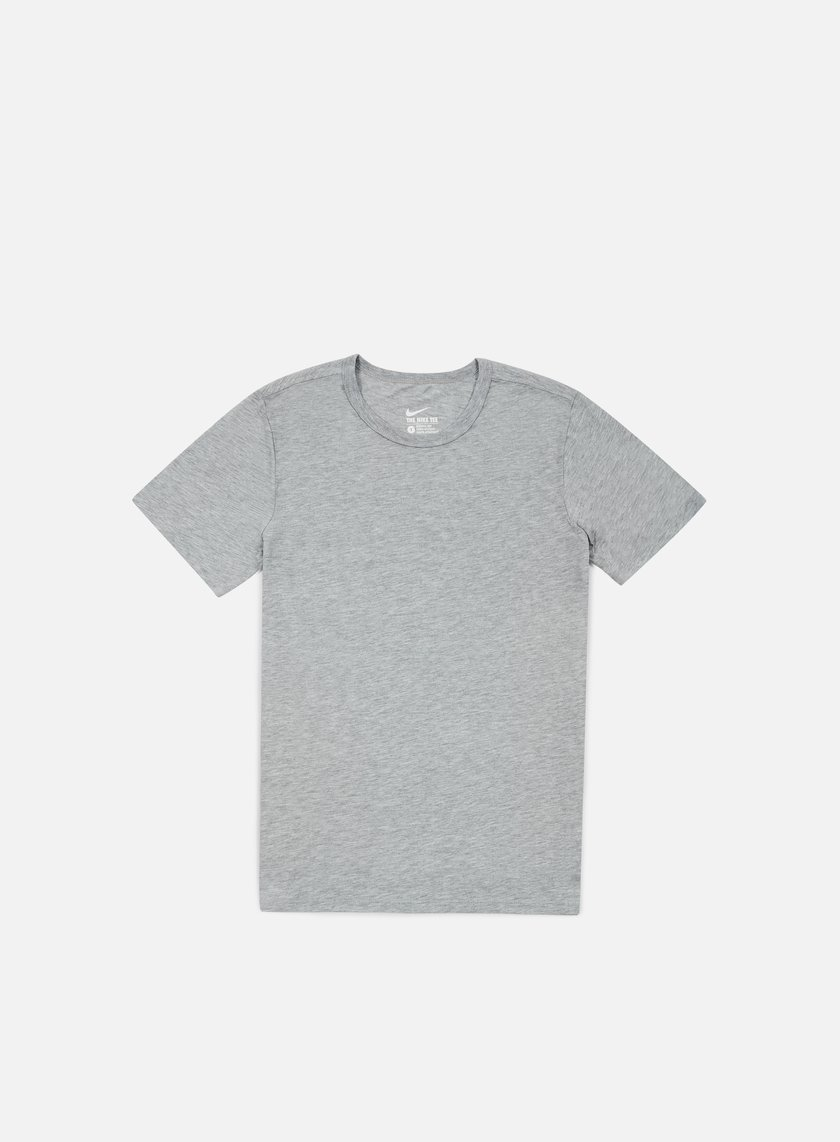 Nike - Solid Futura T-shirt, Dark Heather Grey/Black
