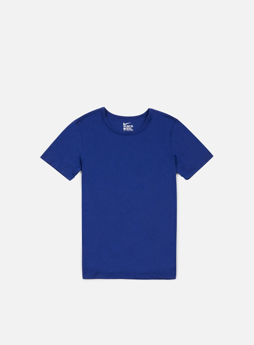 Nike - Solid Futura T-shirt, Deep Royal Blue/Black