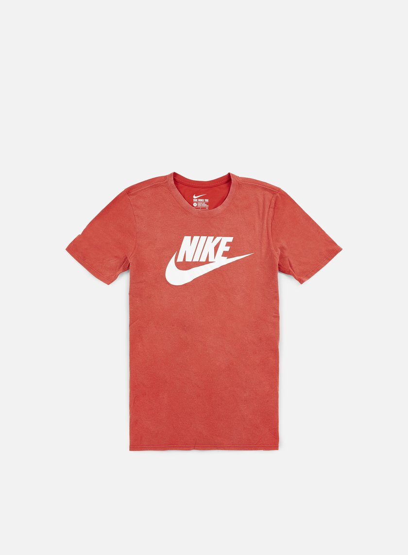 Nike - Solstice Futura T-shirt, Light Crimson/White