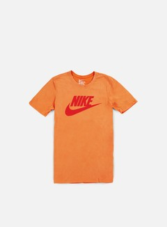 Nike - Solstice Futura T-shirt, Vivid Orange/Light Crimson