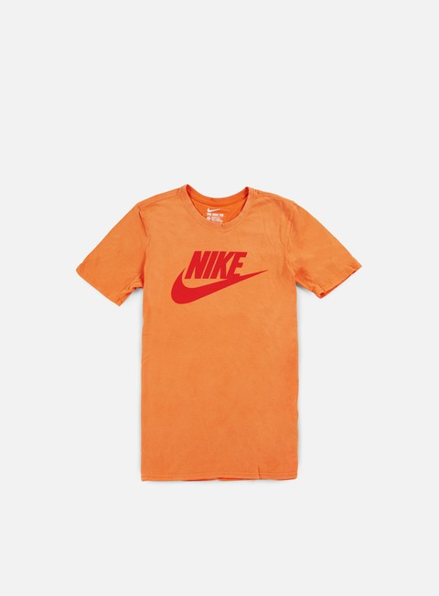 t shirt nike solstice futura t shirt vivid orange light crimson