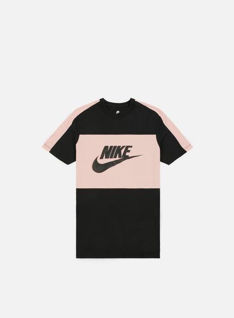 t shirt nike sport block t shirt black black