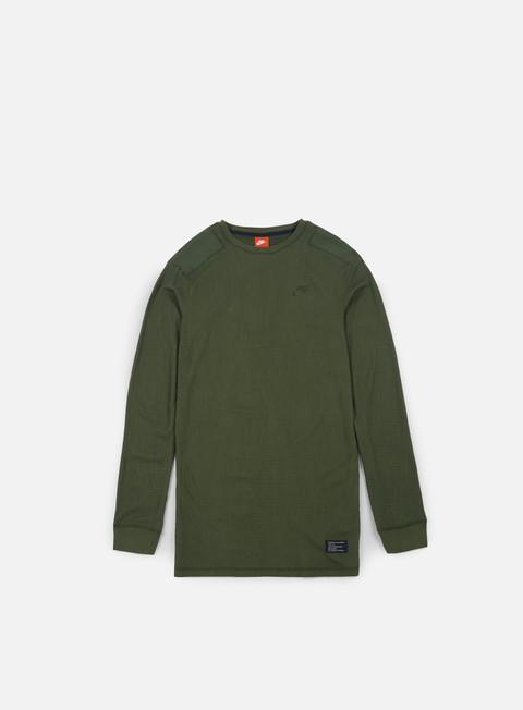 t shirt nike sportswear af1 ls t shirt cargo khaki cargo khaki