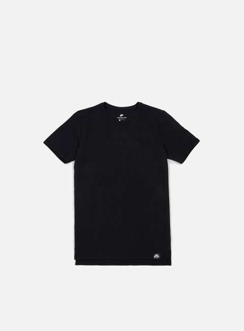 t shirt nike sportswear air t shirt black white