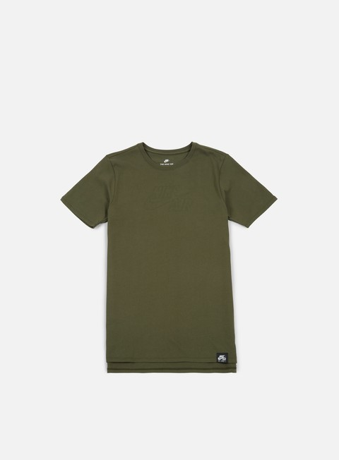 t shirt nike sportswear air t shirt cargo khaki white