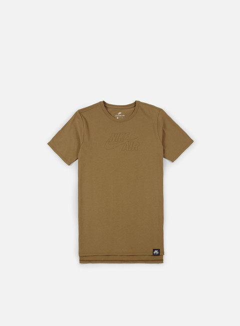 t shirt nike sportswear air t shirt golden beige white