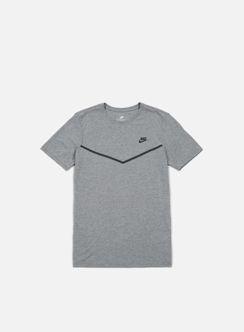 t shirt nike tb tech t shirt carbon heather black