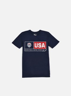 Nike - USA Basketball Dry T-shirt, Obsidian