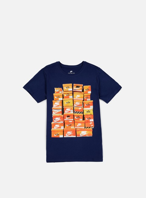 t shirt nike vintage shoebox t shirt binary blue binary blue