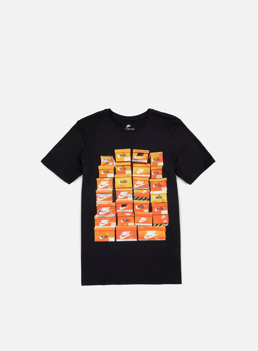 Nike - Vintage Shoebox T-Shirt, Black/Black
