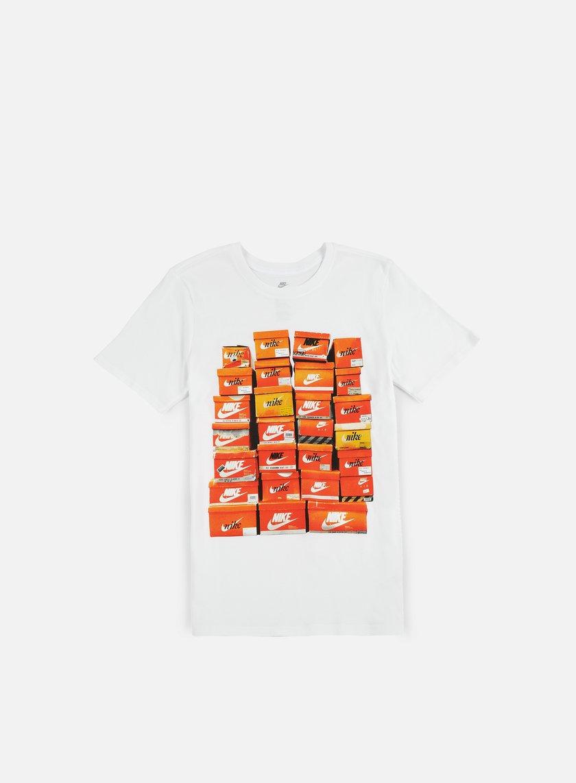 Nike - Vintage Shoebox T-Shirt, White/White