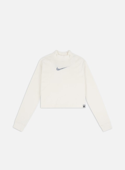 Long Sleeve T-shirts Nike WMNS NSW M2Z Cropped LS T-shirt