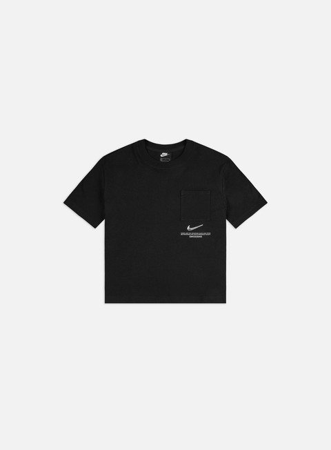 Short Sleeve T-shirts Nike WMNS NSW Swoosh Top 2 T-shirt