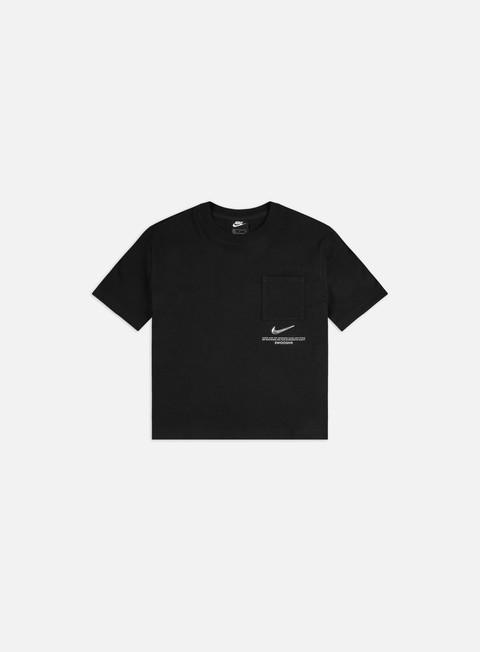 T-shirt a Manica Corta Nike WMNS NSW Swoosh Top 2 T-shirt