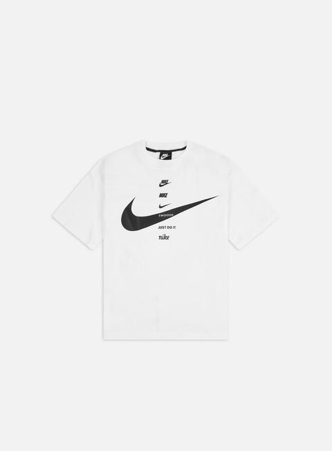 Outlet e Saldi T-shirt a Manica Corta Nike WMNS NSW Swoosh Top T-shirt