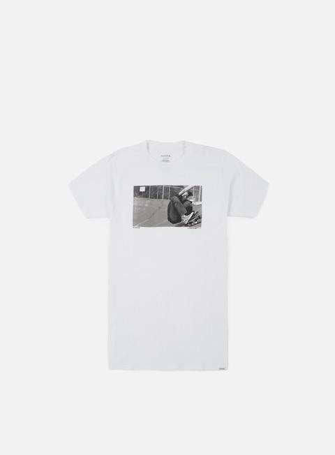 t shirt nixon asphalt t shirt white