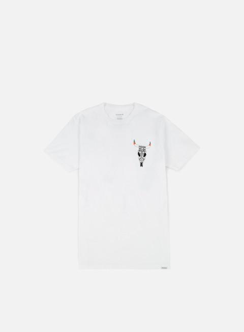 t shirt nixon bison t shirt white