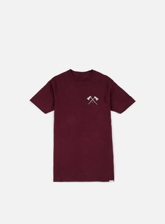 Nixon - Edger T-shirt, Burgundy 1