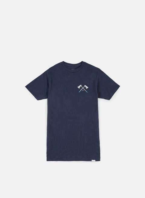 t shirt nixon edger t shirt navy