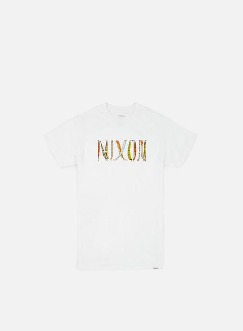 Outlet e Saldi T-shirt a Manica Corta Nixon Nest T-shirt