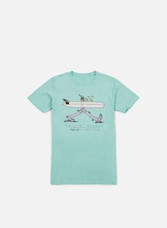 Nixon - Rollin Stedy T-shirt, Aruba
