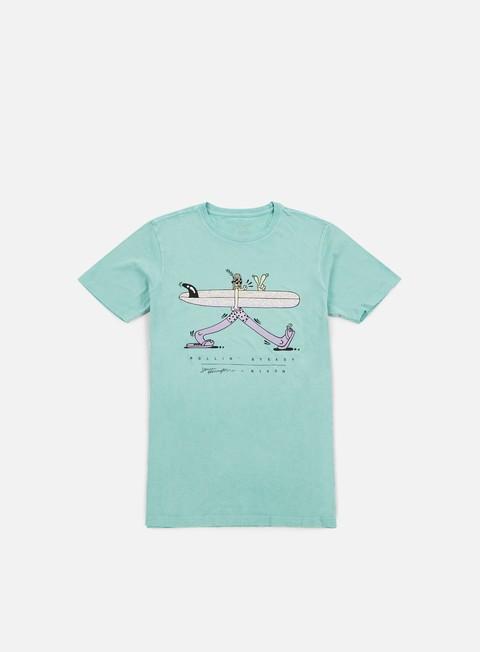 Outlet e Saldi T-shirt a Manica Corta Nixon Rollin Stedy T-shirt