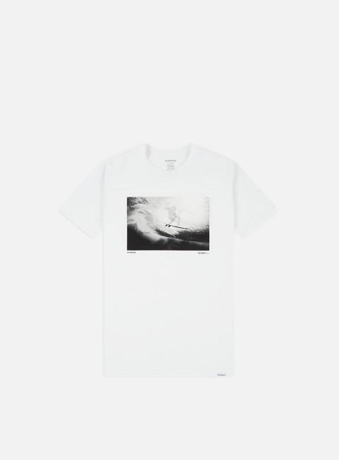 Outlet e Saldi T-shirt a Manica Corta Nixon Sea Thru T-shirt