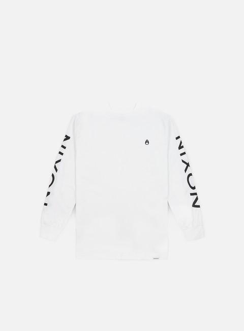 Outlet e Saldi T-shirt a Manica Lunga Nixon Sparrow LS T-shirt
