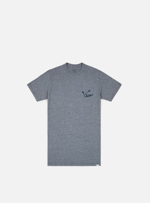 t shirt nixon watcher t shirt dark heather gray