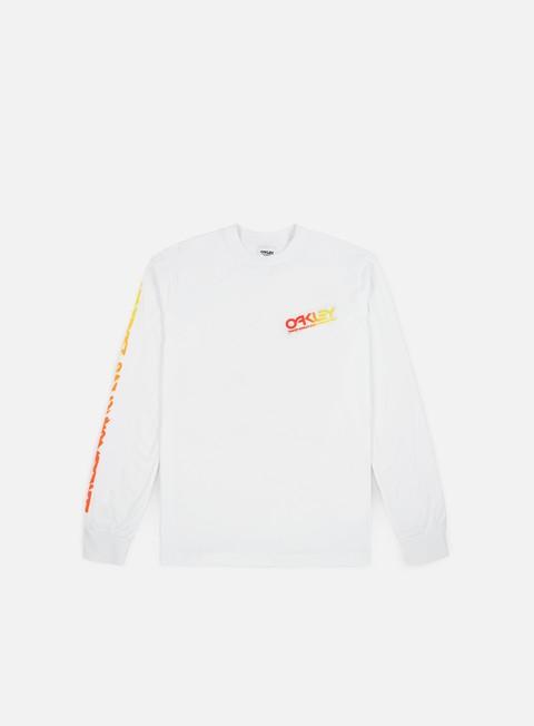 t shirt oakley tnp dino ls t shirt white