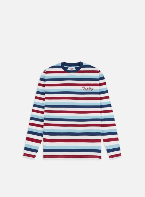 Outlet e Saldi T-shirt a Manica Lunga Oakley TNP Striped LS T-shirt
