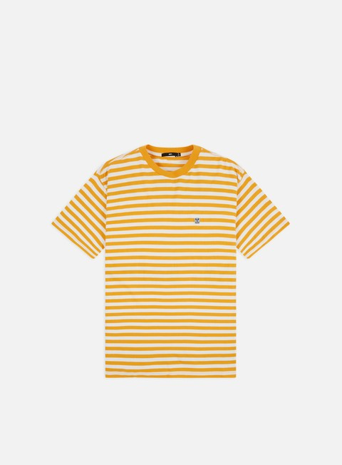 Outlet e Saldi T-shirt a Manica Corta Obey 89 Icon Stripe Box II T-shirt