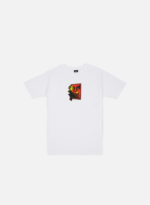 Short Sleeve T-shirts Obey A. Hole Baic T-shirt