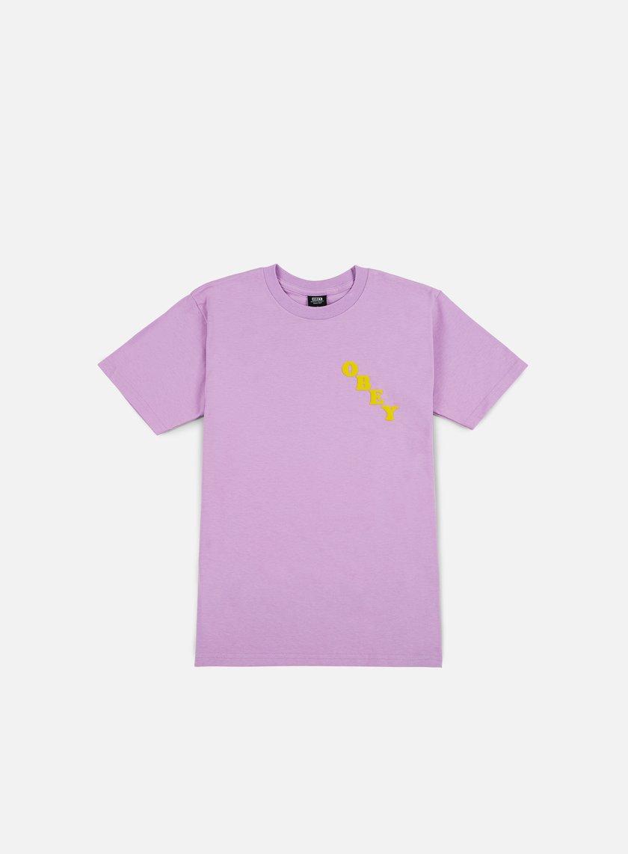 Obey - All Evil T-shirt, Lavender Blue