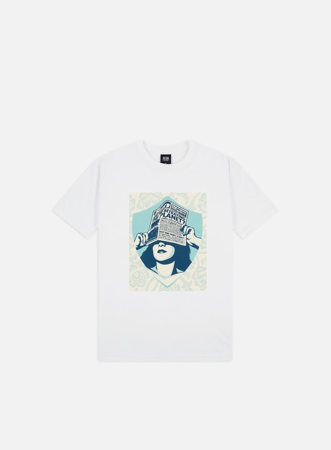Outlet e Saldi T-shirt a Manica Corta Obey Are We Betraying The Planet T-shirt