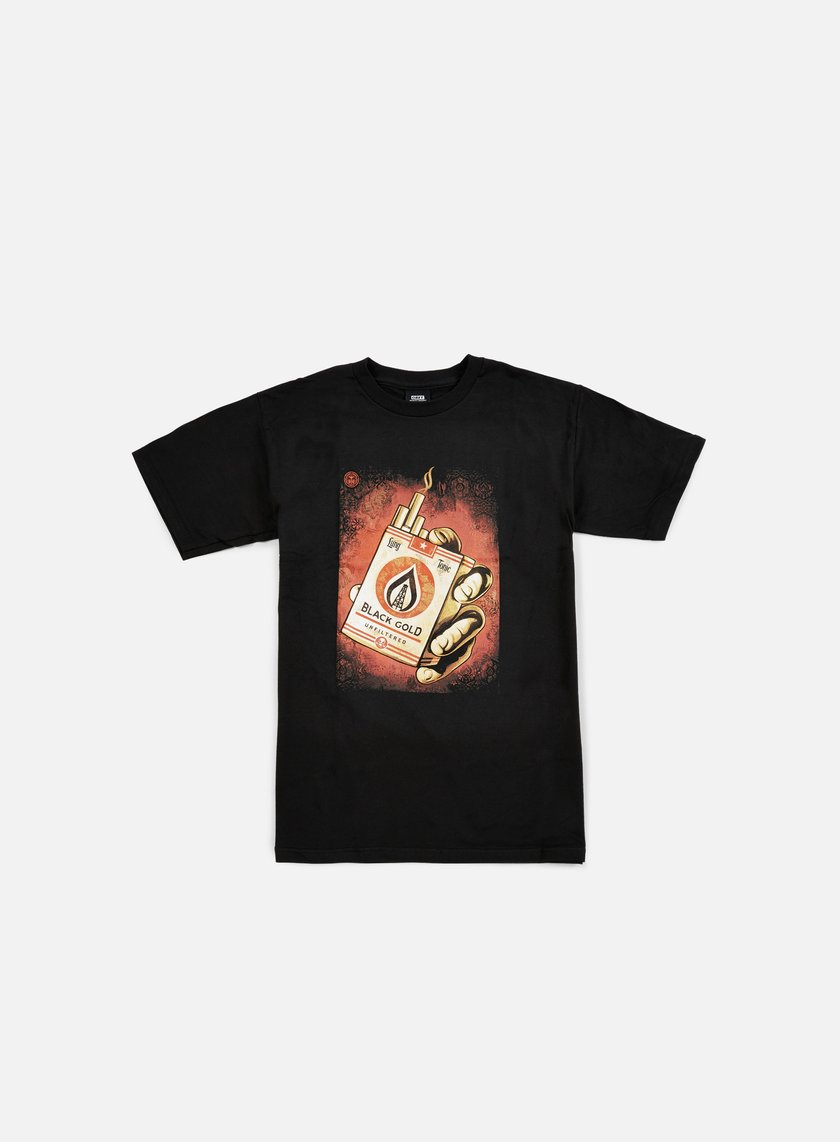 Obey - Black Gold T-shirt, Black
