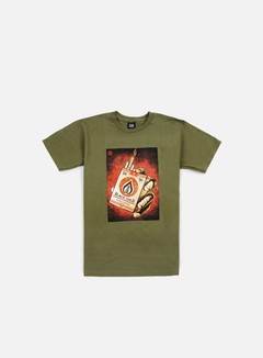 Obey - Black Gold T-shirt, Dark Olive