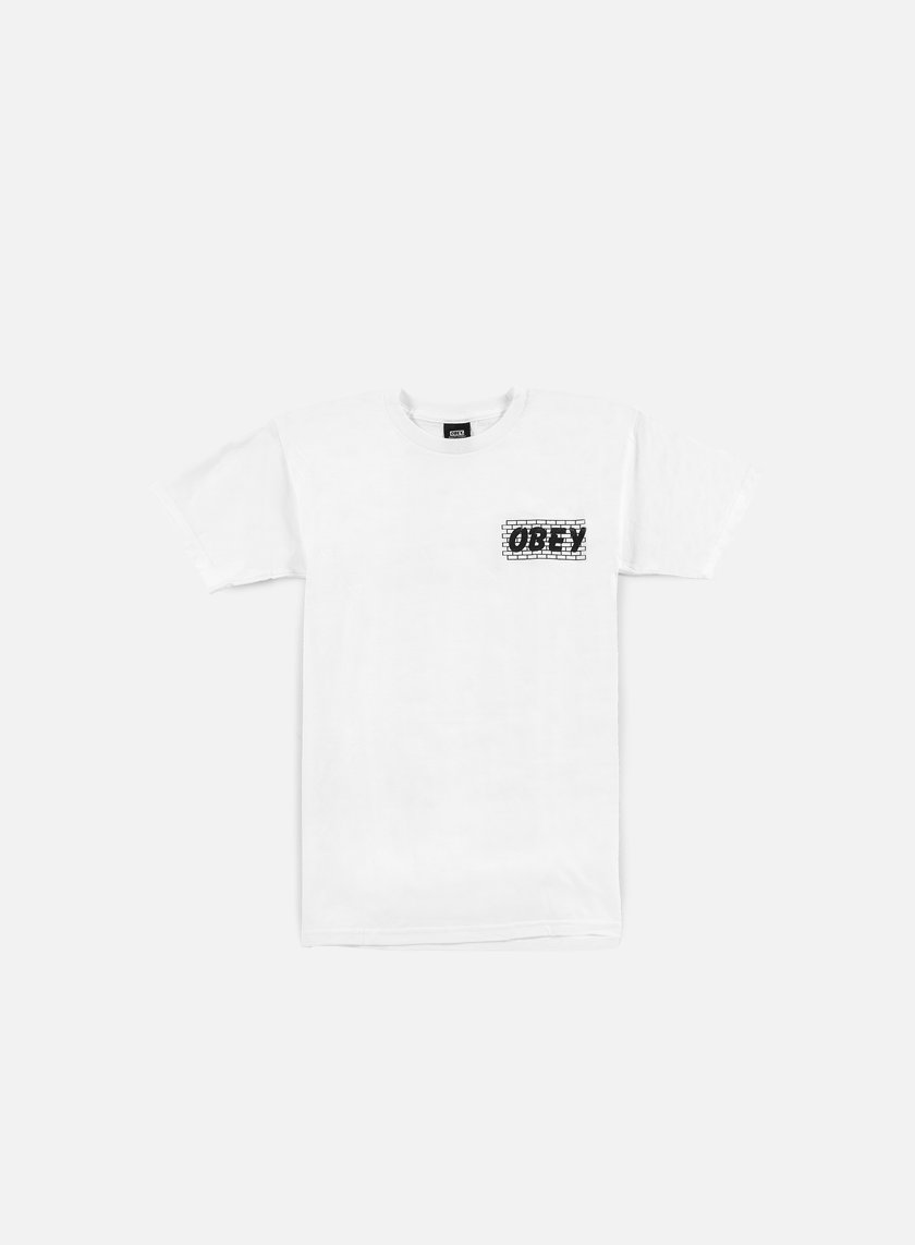 Obey - Brickwall T-shirt, White