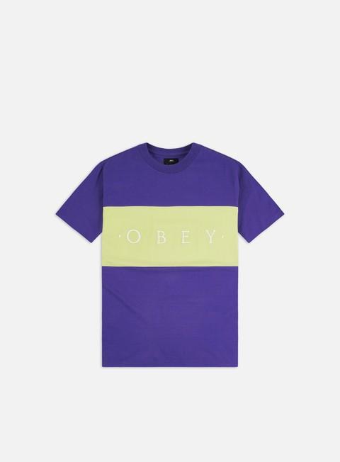 Outlet e Saldi T-shirt a Manica Corta Obey Buddy T-shirt