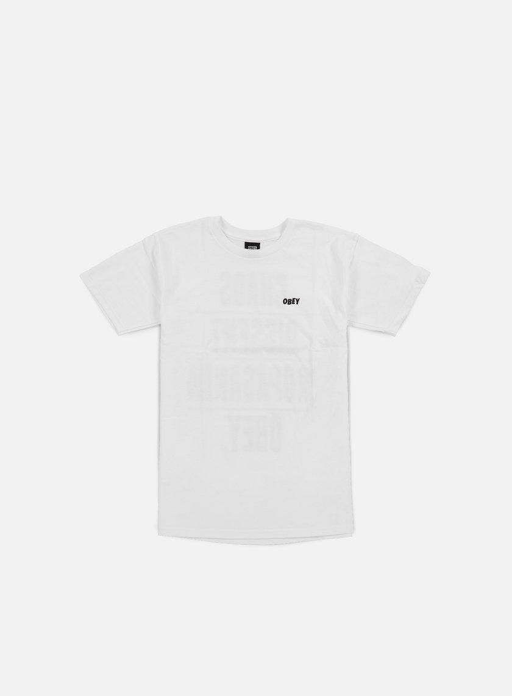Obey - Chaos Dissent Propaganda T-shirt, White