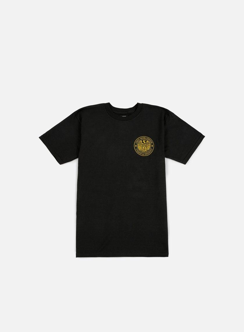 Obey - Chaos & Dissent T-shirt, Black
