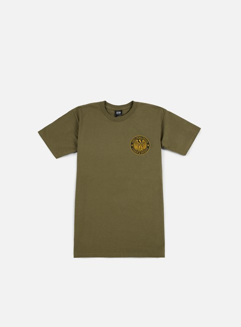 t shirt obey chaos e dissent t shirt dark olive