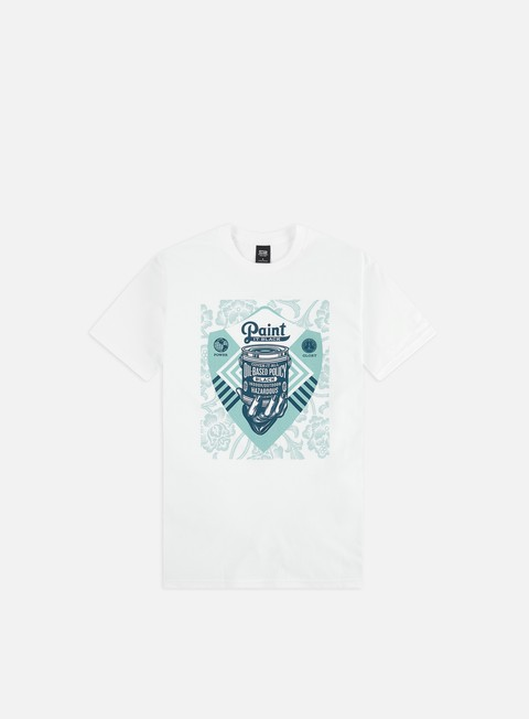 Outlet e Saldi T-shirt a Manica Corta Obey Cover It All Basic T-shirt