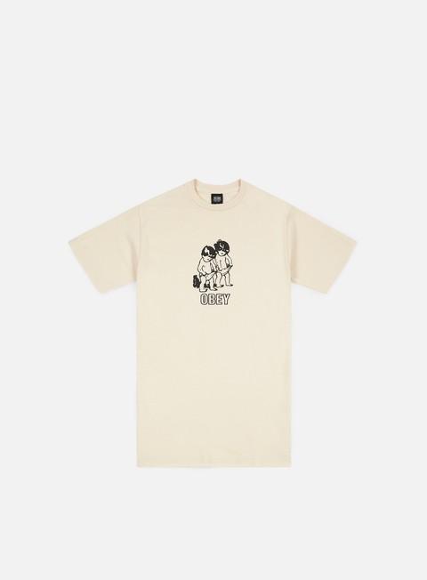 Outlet e Saldi T-shirt a Manica Corta Obey Curious Kiddo's T-shirt
