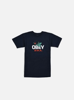 Obey - Dead On Arrival T-shirt, Navy 1