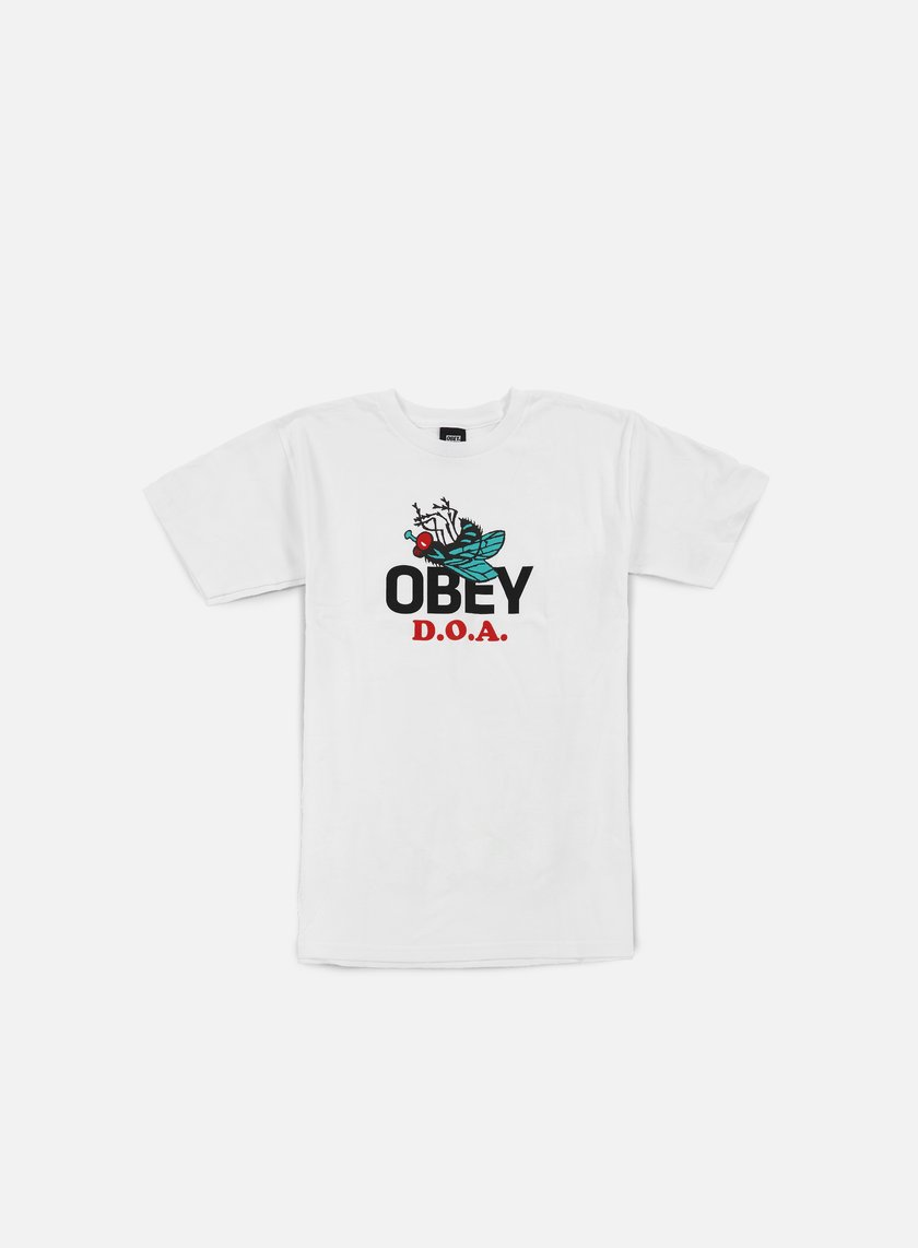 Obey - Dead On Arrival T-shirt, White