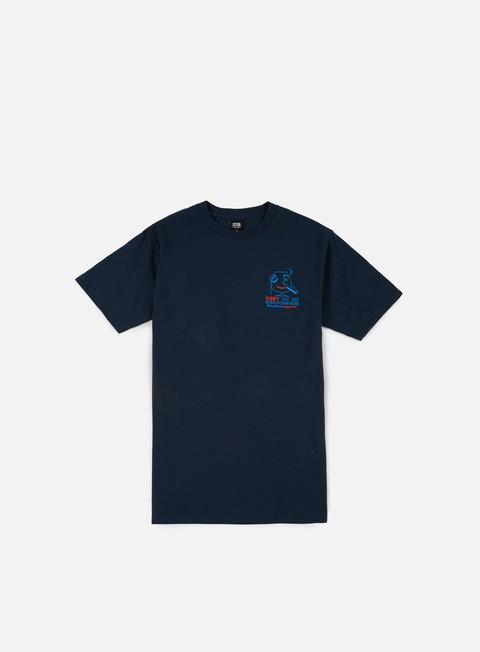 Outlet e Saldi T-shirt a Manica Corta Obey Discotheque T-shirt